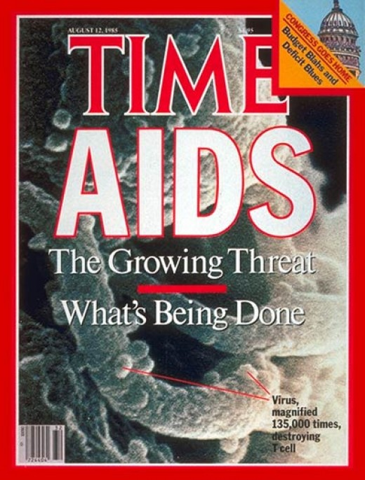 Time Magazine cover from 1985.   Cover credit: Erksine Palmer