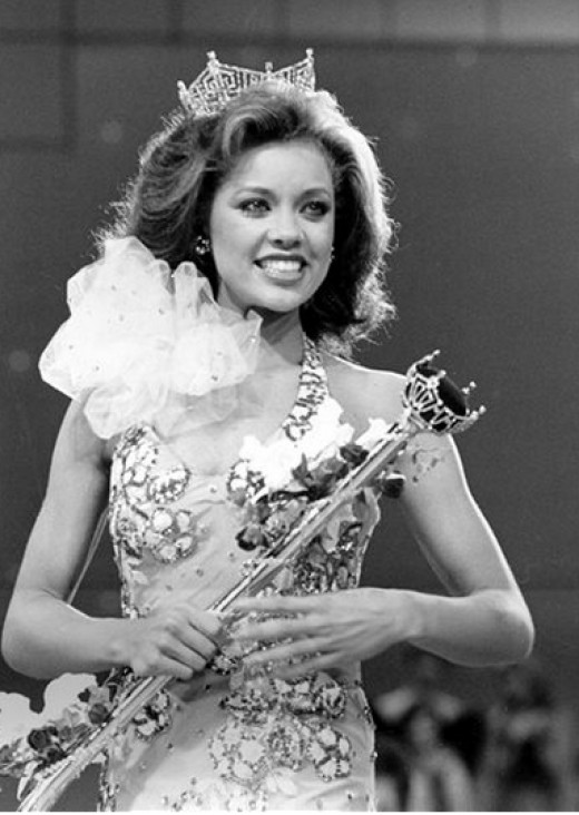 The first African American Miss America stripped of her crown