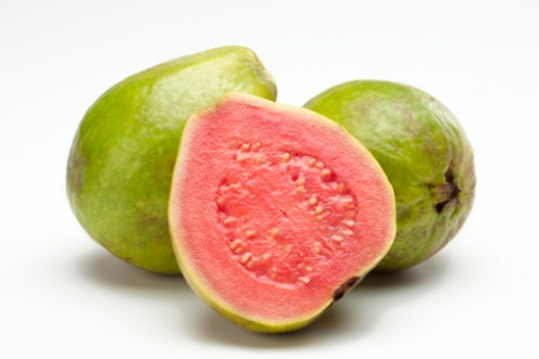 Guava with pink flesh