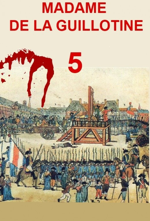 A lesson from France The Guillotine takes the heads of the super rich in Chapter Five of the Second Civil War.