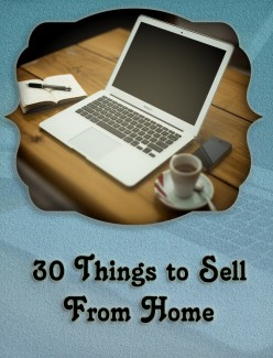 30 Things to Sell From Home