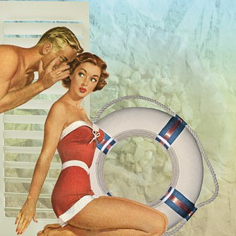 Even in the swinging 1950's, smooth operators hung out on beaches and told pretty girls what they wanted to hear