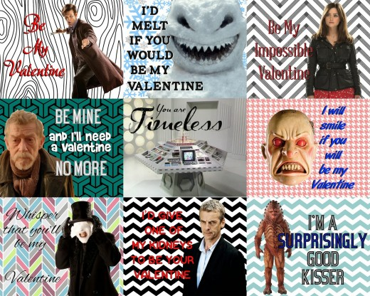 Pretty Witty Doctor Who Valentine's Day Card Ideas