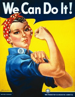 """Rosie the Riveter showed that women """"Can Do"""""""