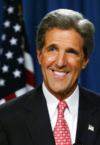 Outgoing Secretary of State John Kerry