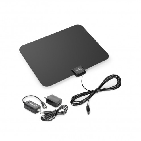 This HD antenna from Amazon can be powered through a USB port.