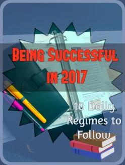 10 Regimes Successful People Follow
