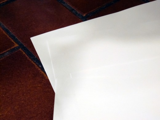 Have any printer paper lying around? This is also a good opportunity to use up that extra scrap paper.