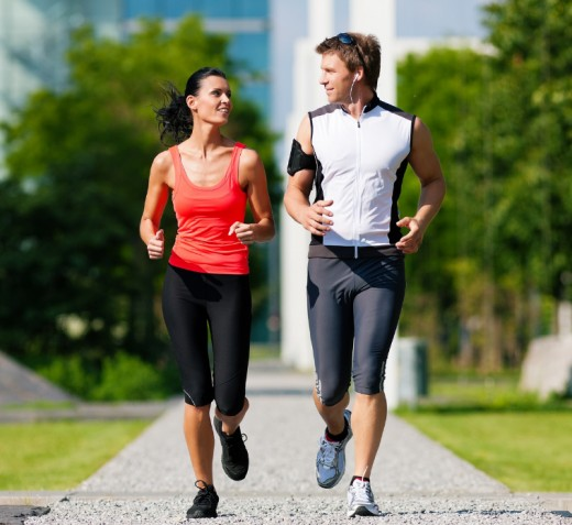 An exercise buddy holds you accountable. She'll keep you on track even when you want to give up.