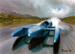 Donald Campbell - waterspeed record 4th January 1967