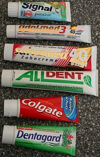 Brands of Toothpaste