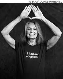 Gloria Steinem, the high priestess of misandry and the abortion industry.