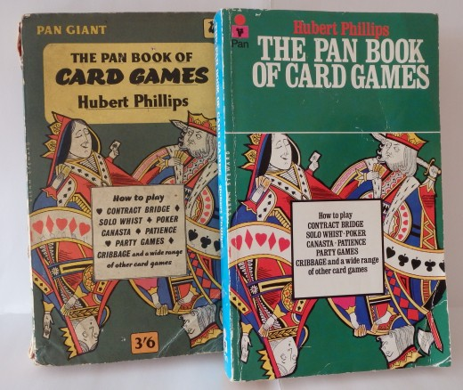 The Pan Book of Card Games, 1960 & 1980 editions.
