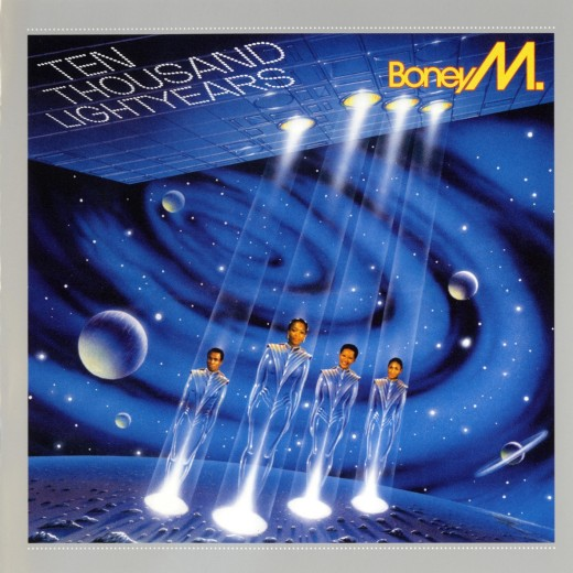 """Ten Thousand Lightyears"" by Boney M. (Sony/BMG, 2007)"