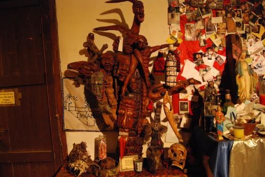 Voodoo objects in Voodoo Museum