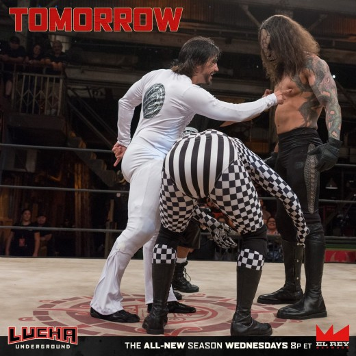 Lucha Underground recap & review: The White Rabbit ...