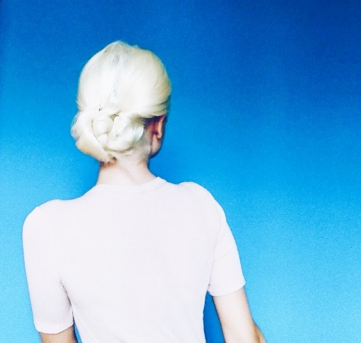 Platinum HairStyle