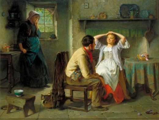 Flirtation and Jealousy (painting)