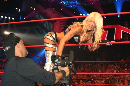 Former TNA Knockout, Angelina Love
