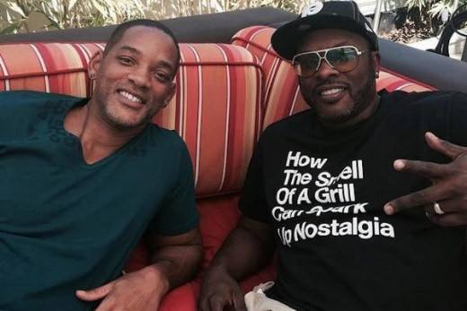 DJ Jazzy Jeff and Will Smith hanging out in recent times!