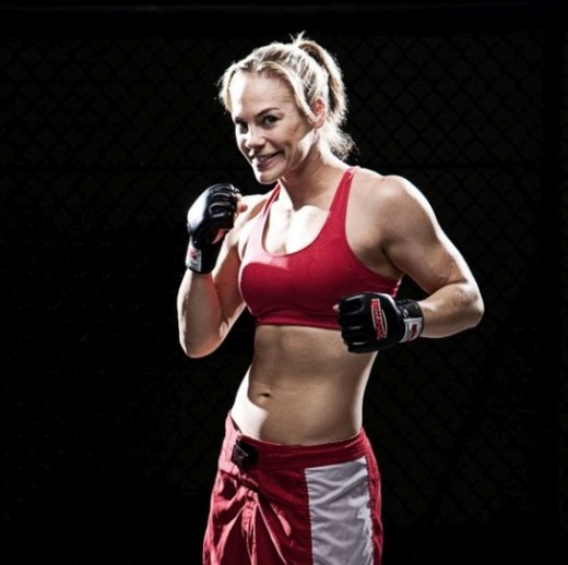 "MMA fighter Julie ""Fireball"" Kedzie"