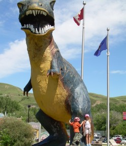 Home of the Largest Dino, Drumheller Alberta