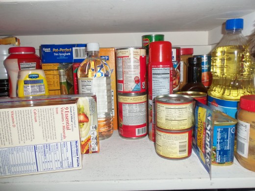 Get non-perishable items for those snowed-in days.