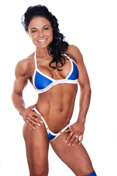 Canadian fitness champion Myriam Capes