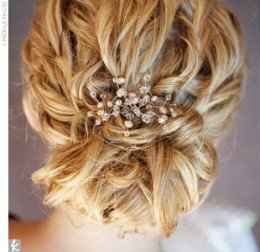 4 Bridesmaid Hairstyles: Updos, Half-up, Ponytail, and All Down ...