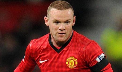 Manchester Utd and England footballer Wayne Rooney