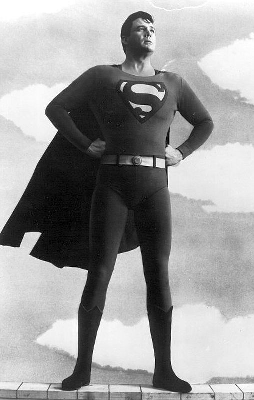 Actually Bob Holiday made a pretty good looking Superman.