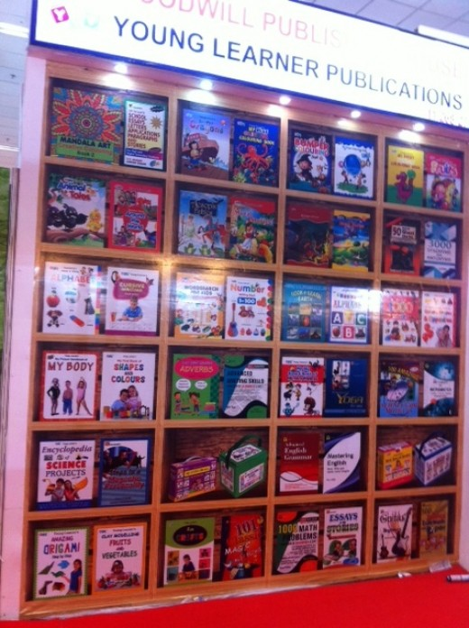 Children's books at the World book fair 2017, New Delhi