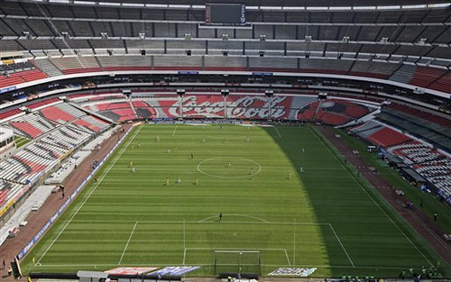The Aztec Stadium has been closed due to swine flu pandemic recently