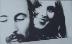 David Crosby and Christine Hinton
