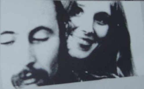 David Crosby and Christine Hinton