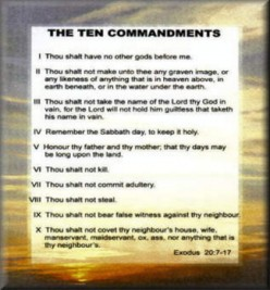 Minnesota Musing: Moses and The 10 Commandments- Jesus Added the 11th Comandment