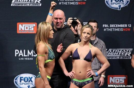 Lisa Ellis and Jessica Rakoczy - Women MMA Fighters