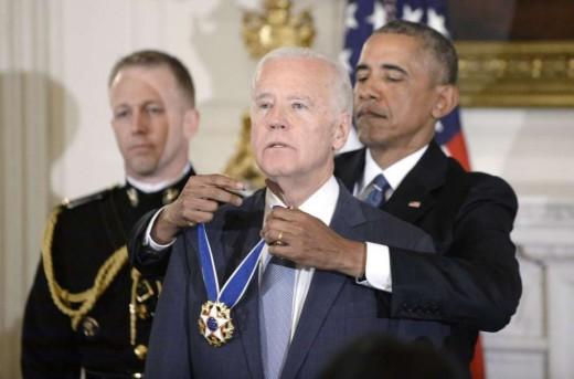 Pres. Obama honors Vice Pres. Joe Biden