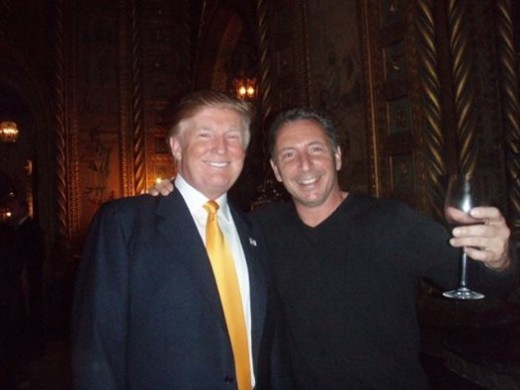 And guess what???? YUP, keeping to my family's traditions --- HE'S ITALIAN!!!!! Hmmmm? He's standing with Trump. Very smart guy... my ex brother in law...