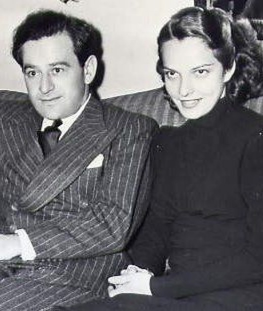 Wyler and Margaret Tallichet