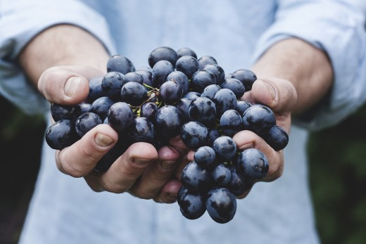 Grapes: full of antioxidants