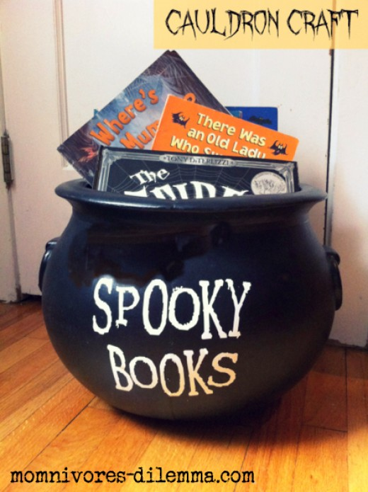 A great Halloween book holder