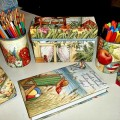 Upcycle Calendars and Cereal Boxes Into Desk Accessories