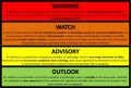 The Most Commonly-Issued Weather Watches & Warnings - A Glossary