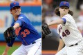 Mets re-sign a pair of potential Aces to 1-year deals.  deGrom gets a hefty raise.