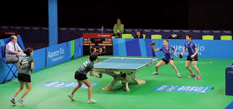Olympic table tennis table