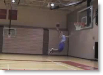 """Only 5'5"""" and Oh Yes..., he throws it DOWN!"""