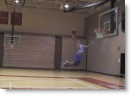 "Only 5'5"" and Oh Yes..., he throws it DOWN!"