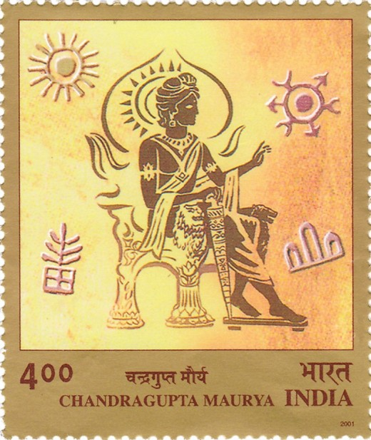 Chandragupta Maurya, the first Emperor of India. More Clan originated from him.