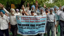 Indian Veterans Continue Agitation with Fast Unto Death for Honor and OROP as per Koshiari Committee